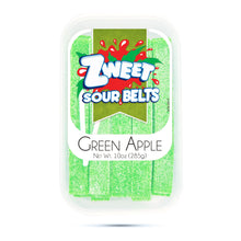 Load image into Gallery viewer, Zweet Sour Green Apple Belts 10oz