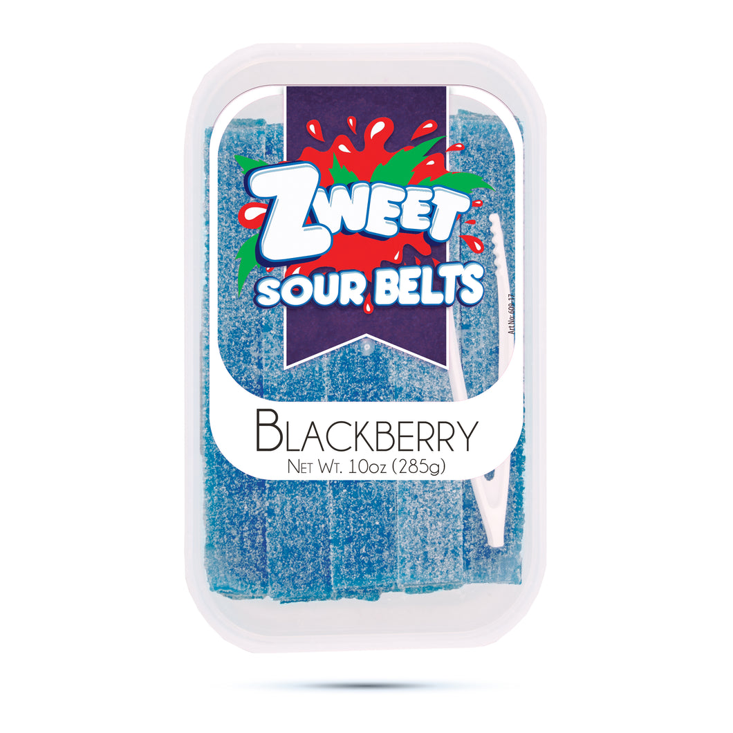 Zweet Sour Blackberry Belts 10oz