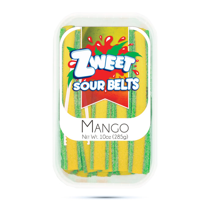 Zweet Sour Mango Belts 10oz