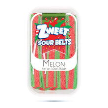 Load image into Gallery viewer, Zweet Sour Melon Belts 10oz
