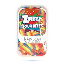 Load image into Gallery viewer, Zweet Rainbow Sour Bites 10oz