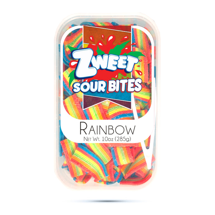 Zweet Rainbow Sour Bites 10oz