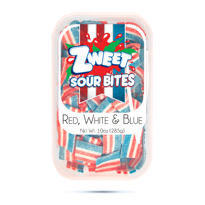 Zweet Sour US Flag Bites 10oz