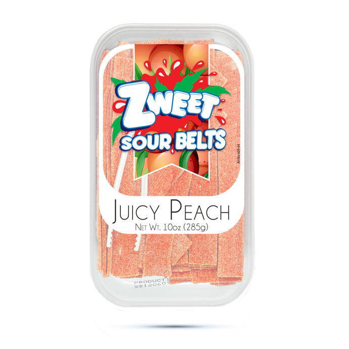 Zweet Sour Peach Belts 10oz