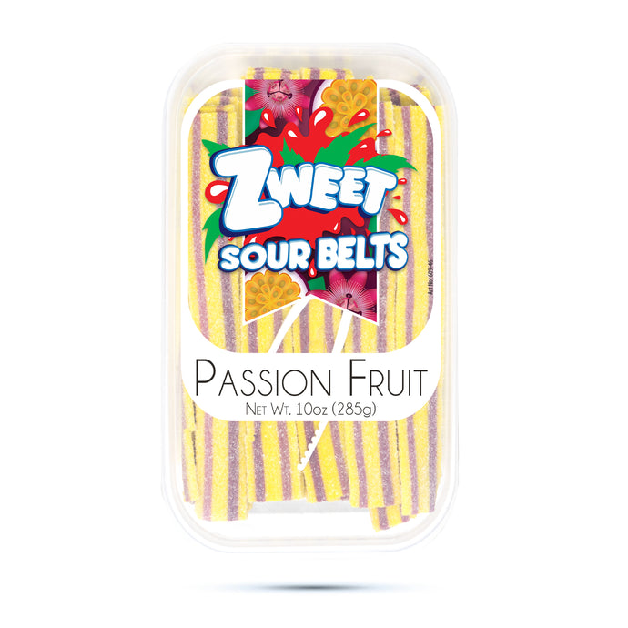Zweet Passion Fruit Belts 10oz