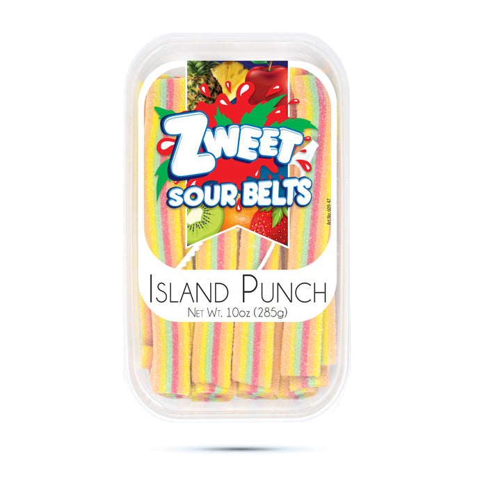 Zweet Island Punch Belts 10oz