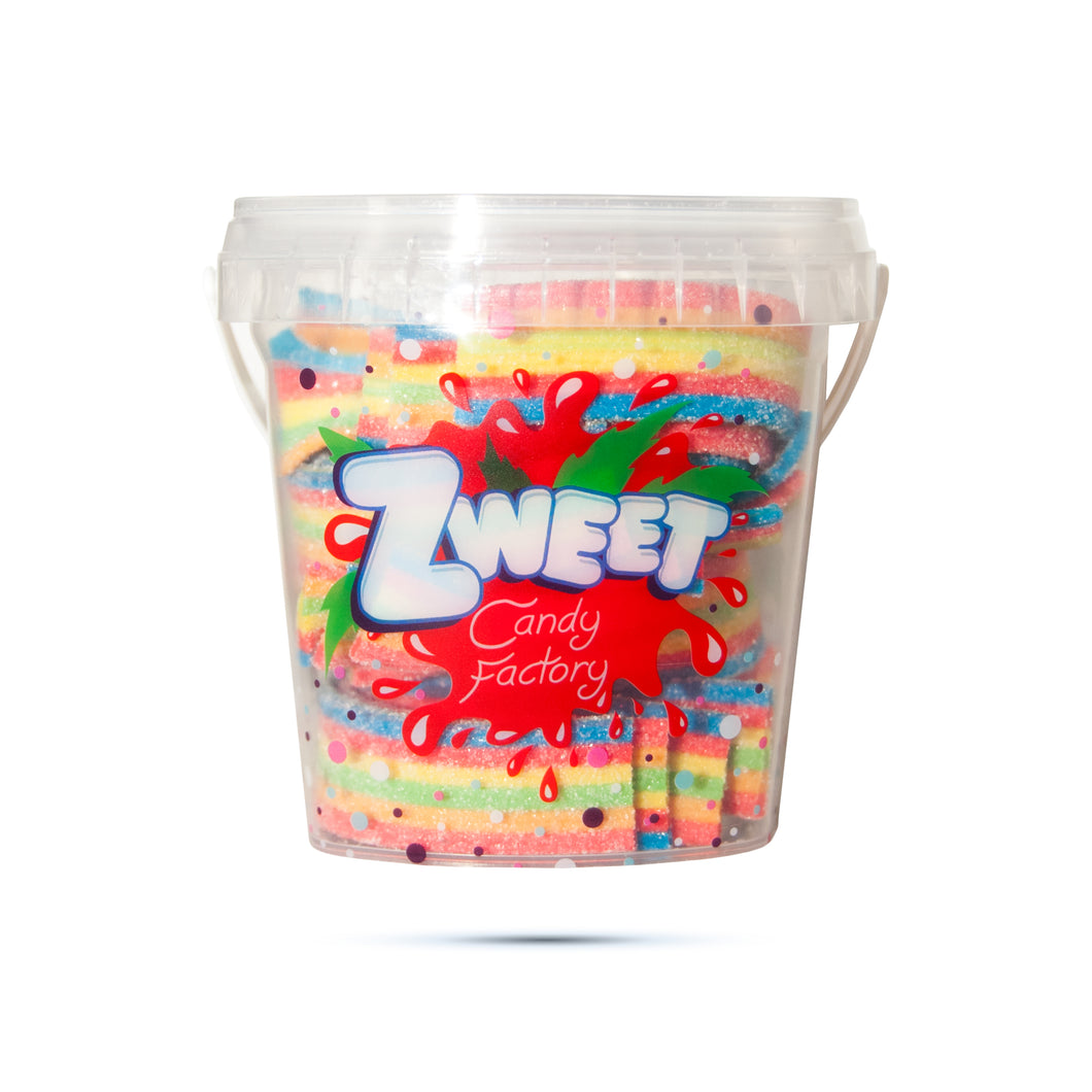 Zweet Sour Rainbow Belts 7oz