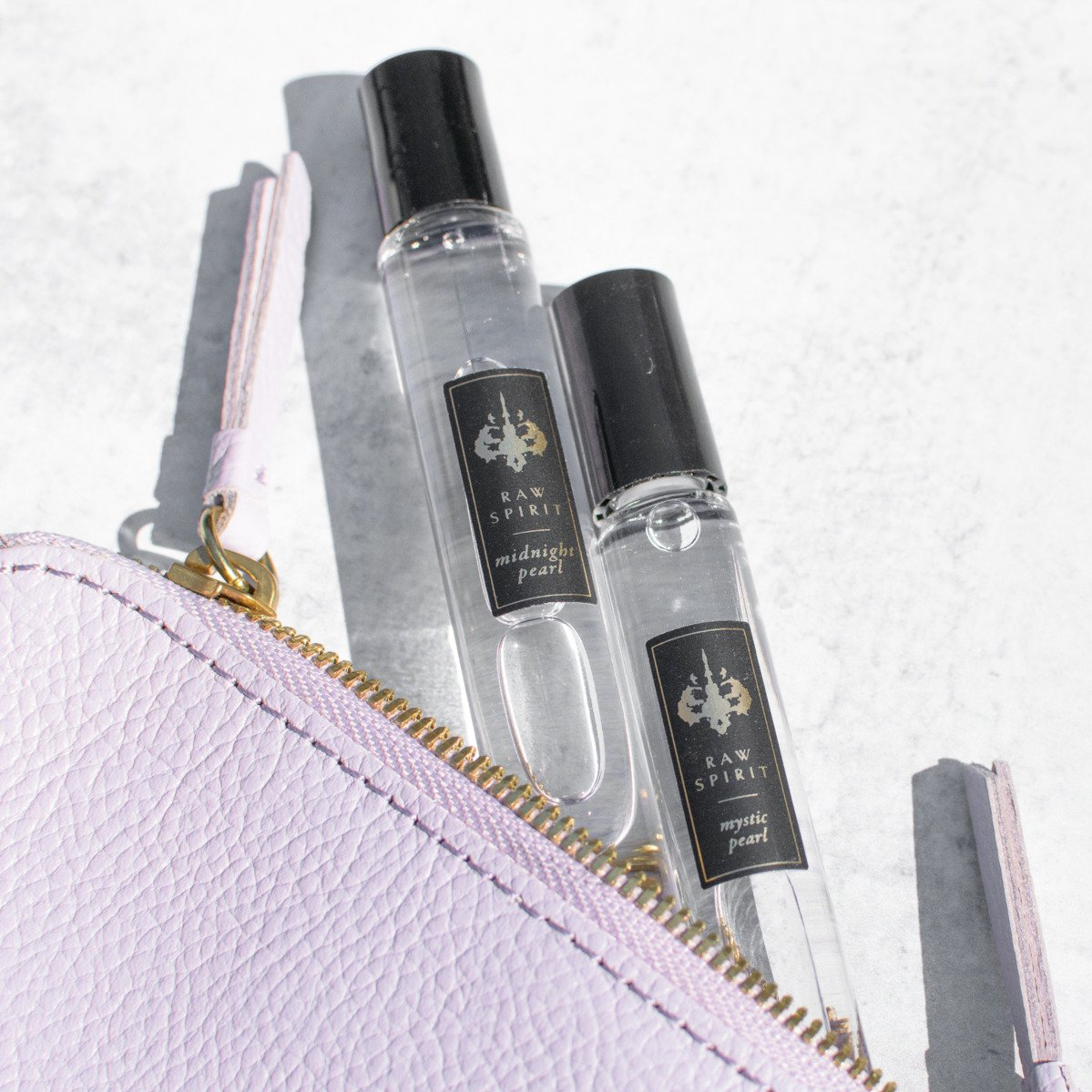 Discover Bali, Eau de Parfum Rollerball Set - MYSTIC PEARL and MIDNIGHT PEARL - Raw Spirit, Inc.