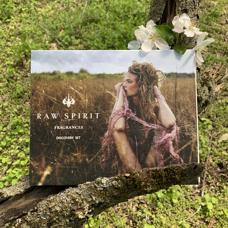 Explore the intoxicating scents of the Australian desert, the Caribbean mountains, the tropical shores of Bali, and the US coasts, and discover the perfect Raw Spirit fragrance for you, by sampling all eight of our fine fragrances.