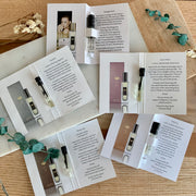 Perfume Sampler 5-Piece Collection, Clean Cruelty-Free Fine Fragrances