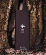 Raw Spirit Fire Tree Fragrance Oil: The rare, smoky-sweet oil of the fire tree is blended with premium wild-harvested Australian sandalwood. The smoky, wood notes mingle with clean, fresh - almost lilac - top notes and a sweet, spicy heart.