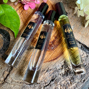 Online Exclusive! Our Floral Perfume Rollerball Trio includes three of our bestselling floral, feminine perfumes – Desert Blush, Midnight Pearl, and Mystic Pearl - in a limited-edition collection at a special price. This set makes a wonderful gift for someone who prefers floral perfumes.