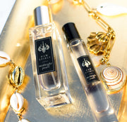 Midnight Pearl Perfume Gift Set, Eau de Parfum Spray and Rollerball - Raw Spirit, Inc.