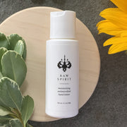Sanitize and hydrate hands with our Moisturizing Antimicrobial Hand Lotion formulation of probiotics, Geranium, Ginseng, and Moringa Seeds.  Created with an organic salt proven to protect against germs and bacteria, this lotion moisturizes and softens hands, and is also an effective alternative to alcohol-based hand sanitizers that can be very drying to skin.