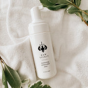 Created with an organic salt proven to protect against germs and bacteria and infused with Babassu Oil and Glycerin, and extracts of Geranium, Ginseng, Calendula and Sage, this skin-softening Hand Sanitizer Foam helps effectively kill most common germs and is a great alternative to alcohol based sanitizers that can be very drying to skin.
