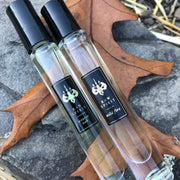 Warm Unisex Perfume, Eau de Parfum Rollerball Set - WINTER OAK and WILD FIRE