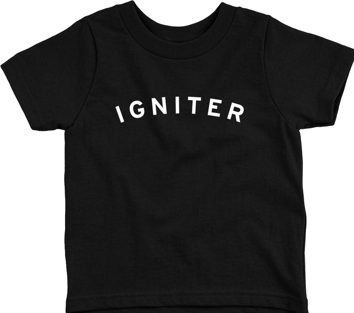 Igniter College Kids T-Shirt (White Print)