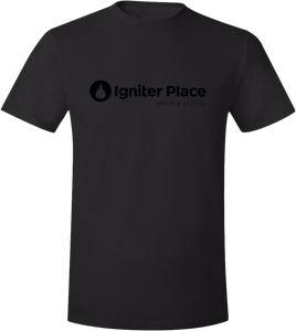 Igniter Place T-Shirt & Tag (Black Print)