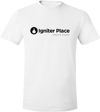 Load image into Gallery viewer, Igniter Place T-Shirt & Tag (Black Print)