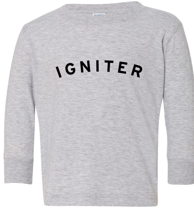 Kids Igniter College Long Sleeve Shirt
