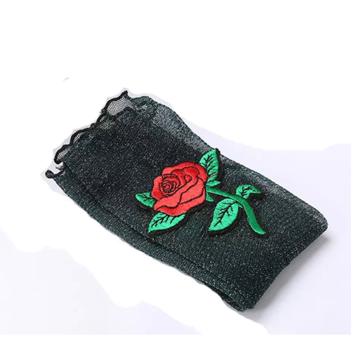 Black Rose Socks