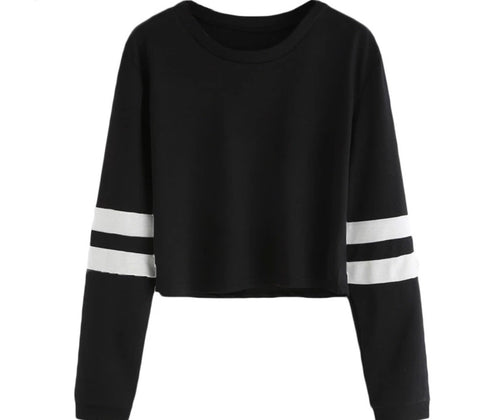 Long Sleeve Cropped Boyfriend