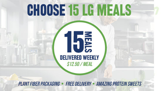 Choose 15 Athlete Meals / Delivery