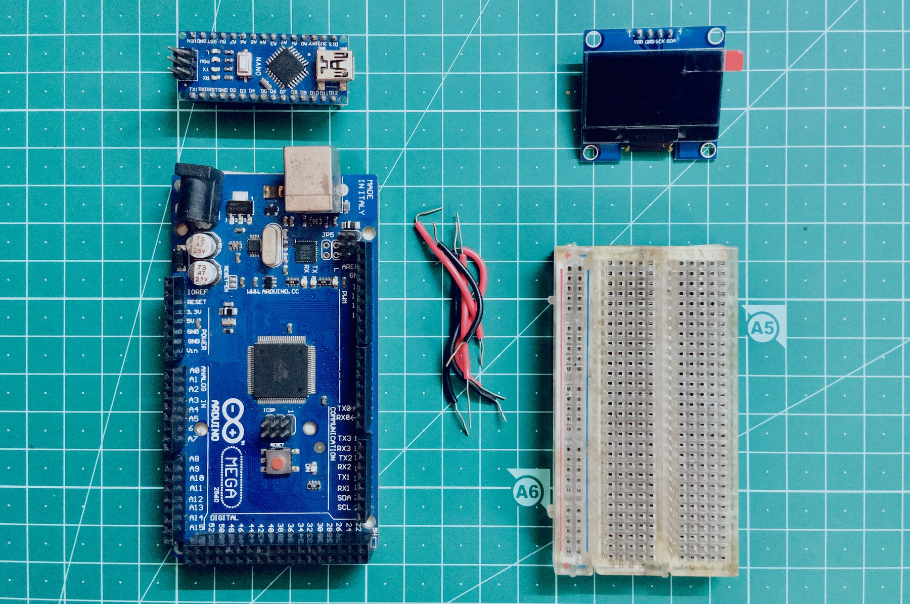Interfacing a 128*64 OLED display with Arduino