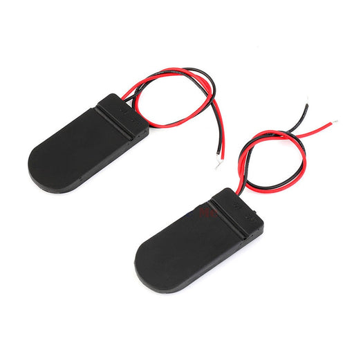 CR2032 Button Coin Cell 6V Lead ON/OFF Switch - ThinkRobotics.in