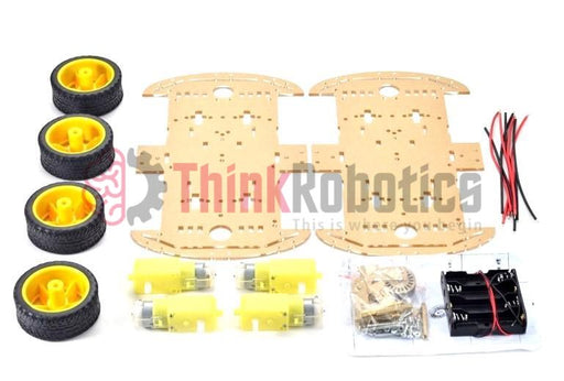 4-Wheel Drive Smart Car DIY Kit (Extended Edition)