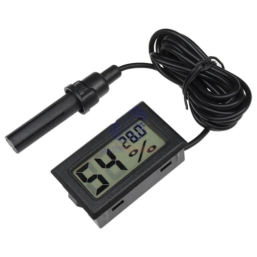 Hygrometer Temperature Humidity Digital Tester Probe Sensor - ThinkRobotics.in