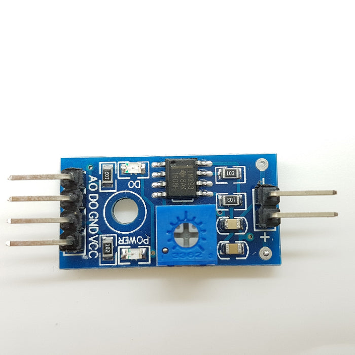 Rain Detection Sensor with LM393 Comparator