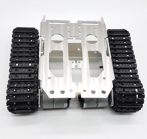 Aluminium Tank Track Chassis - ThinkRobotics.in