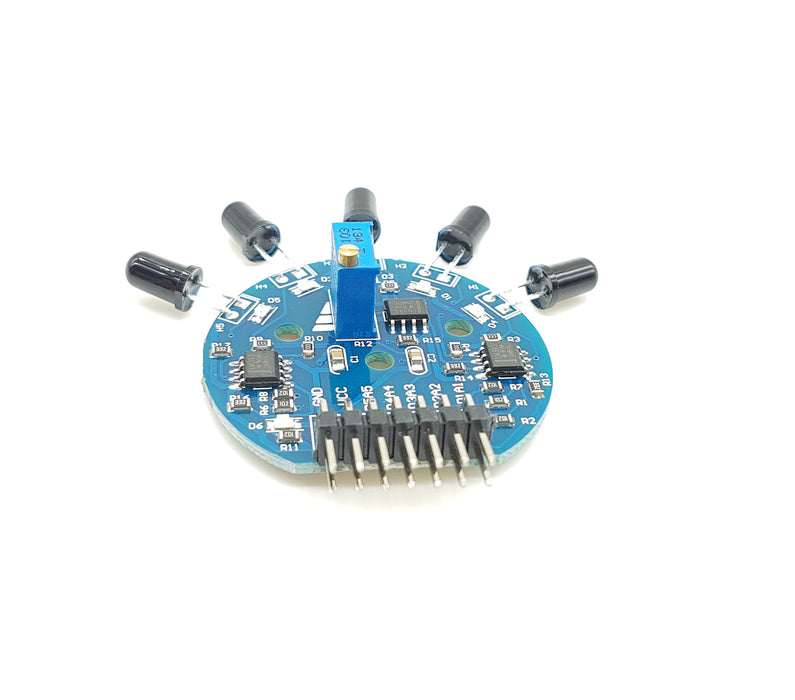 5 Way Flame Sensor Module - ThinkRobotics.in