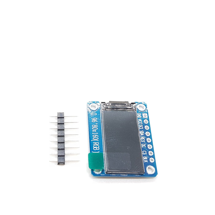 0.96 Inch 7Pin Full Color 80*160 TFT LCD IPS Screen - ThinkRobotics.in