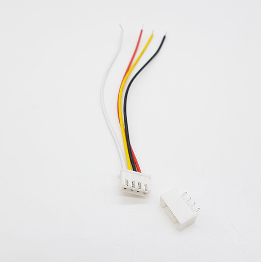 JST XH 2.54MM 4 Pin Female Connector - ThinkRobotics.in