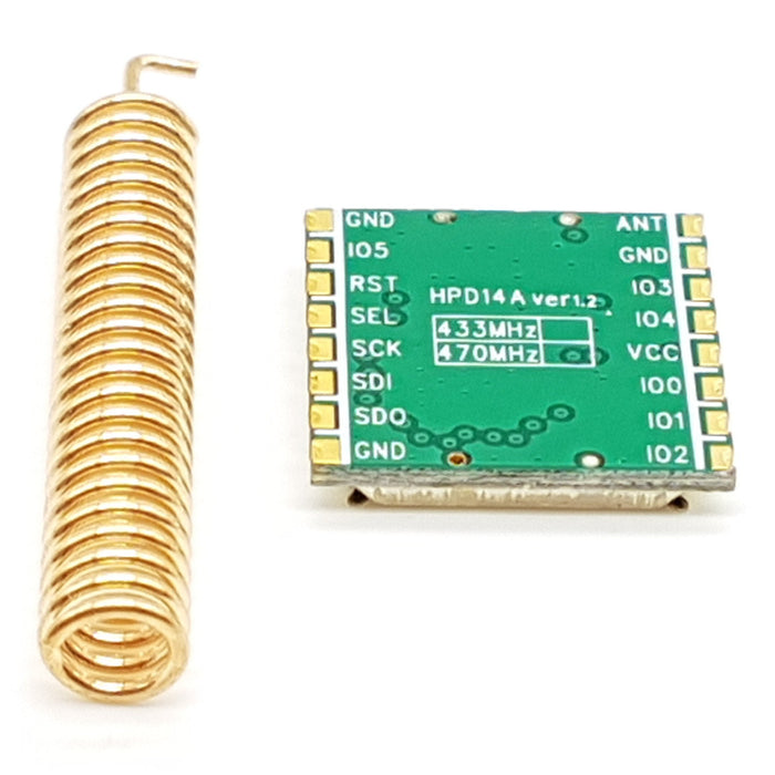 433Mhz Lora SX1278 Long Range RF Wireless Module - ThinkRobotics.in
