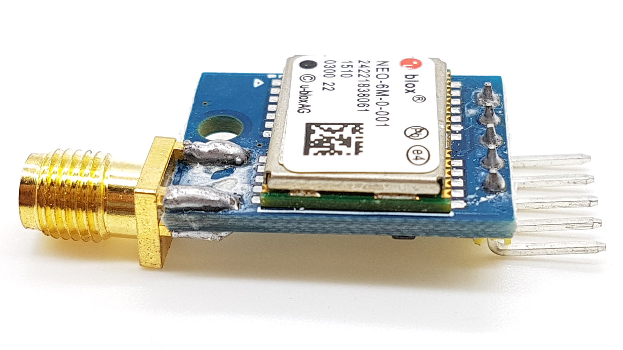 NEO-6M GPS Module ULBOX Dual Antenna - ThinkRobotics.in