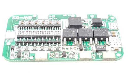 6S 15A 24V PCB BMS Protection Board - ThinkRobotics.in