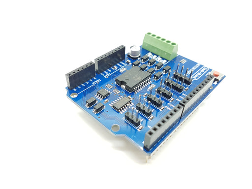 L298P For Arduino Dual Channel DC Motor Driver Shield - ThinkRobotics.in