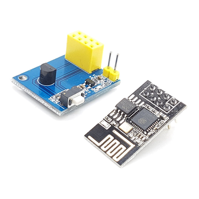 ESP-01S DS18B20 Temperature Humidity Sensor - ThinkRobotics.in