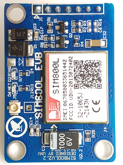 SIM800L Mini GPRS GSM Kit WITH Bluetooth V3 - ThinkRobotics.in