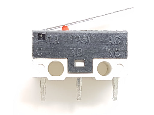 1A/5A 3pin buckle tact switch-micro switch (Pack of 5) - ThinkRobotics.in