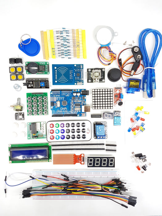 RFID Starter DIY Kit for Arduino UNO R3 Upgraded Version - ThinkRobotics.in