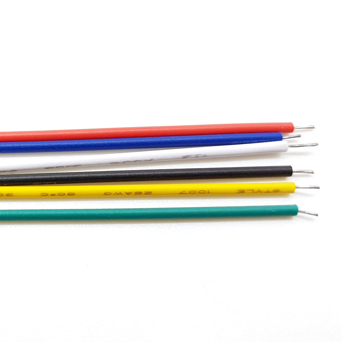 UL1007 26AWG PVC Electronic Wire (Pack of 5)