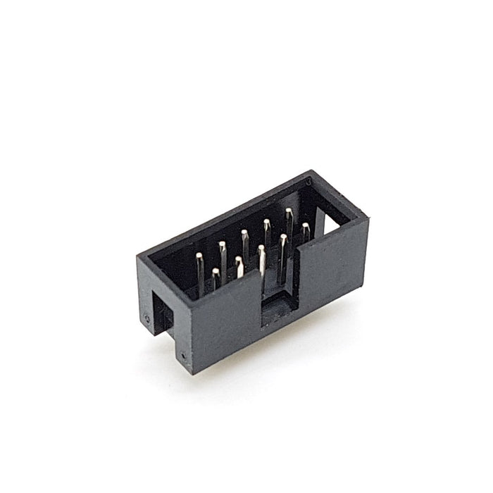 Shrouded Box Header (2X5 pin) - DC3-10P (2 pieces)