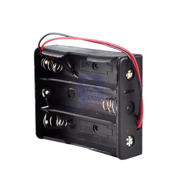 18650 Lithim-Ion Battery Holder (3.7v - 7.4v)