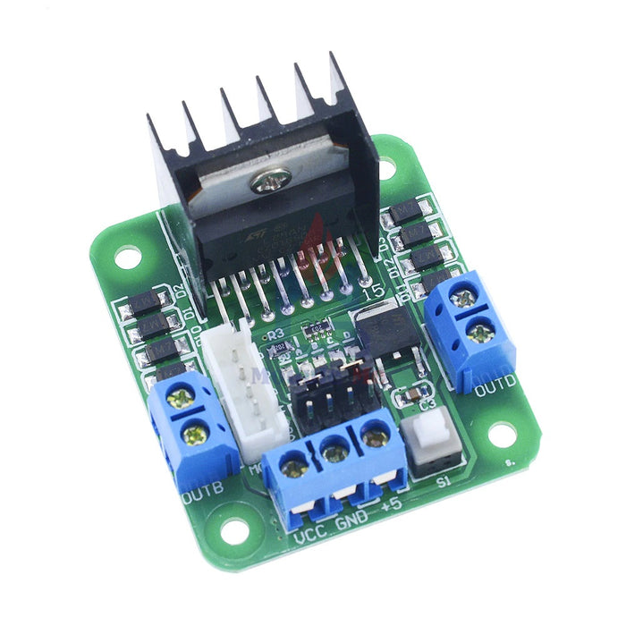 Dual H Bridge Max 20W 2A  Bridge For Arduino L298D - ThinkRobotics.in
