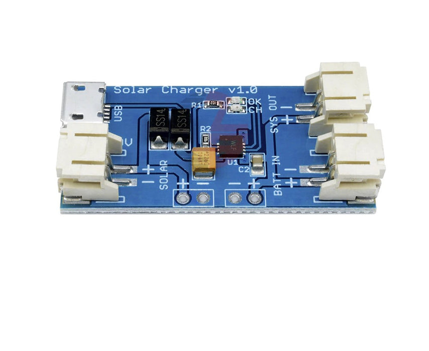 CN3065 18650 Li-ion Mini Solar Charger Board Module - ThinkRobotics.in