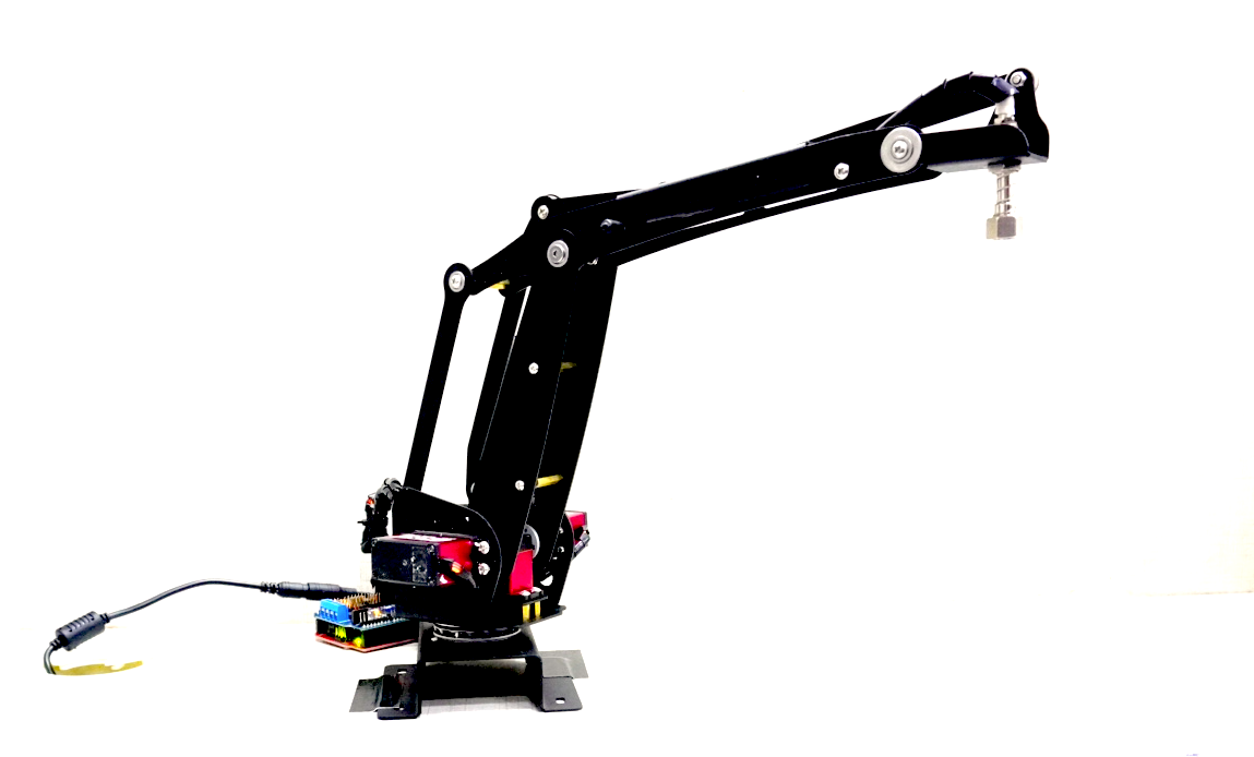 3DOF Robot Arm with Suction (Vacuum) Air Pump